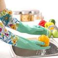 冬季加绒清洁手套(两副)